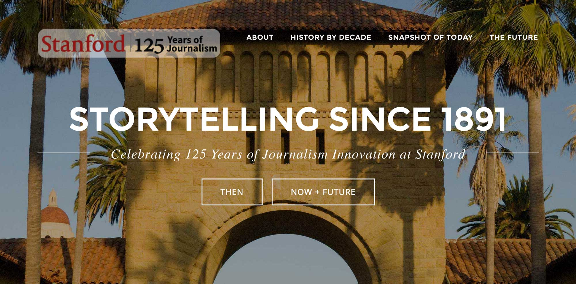 125 Years of Journalism at Stanford